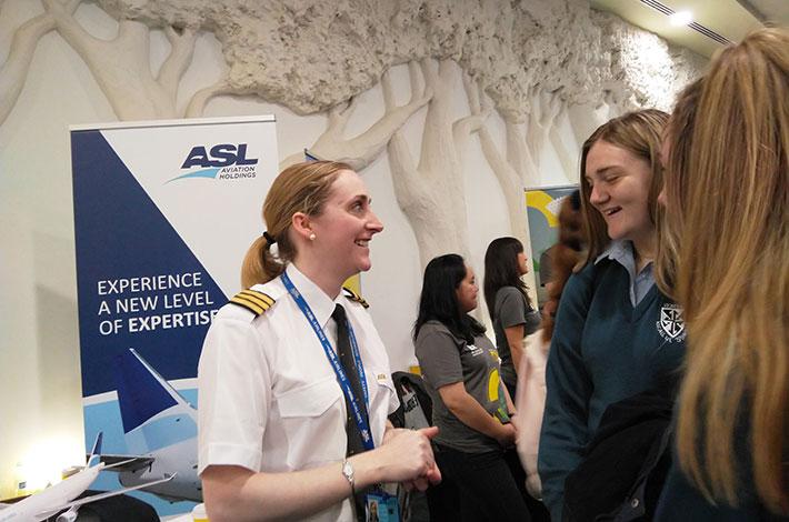 ASLI meets the students